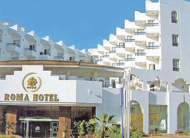 Roma Hotel Außenaufnahme