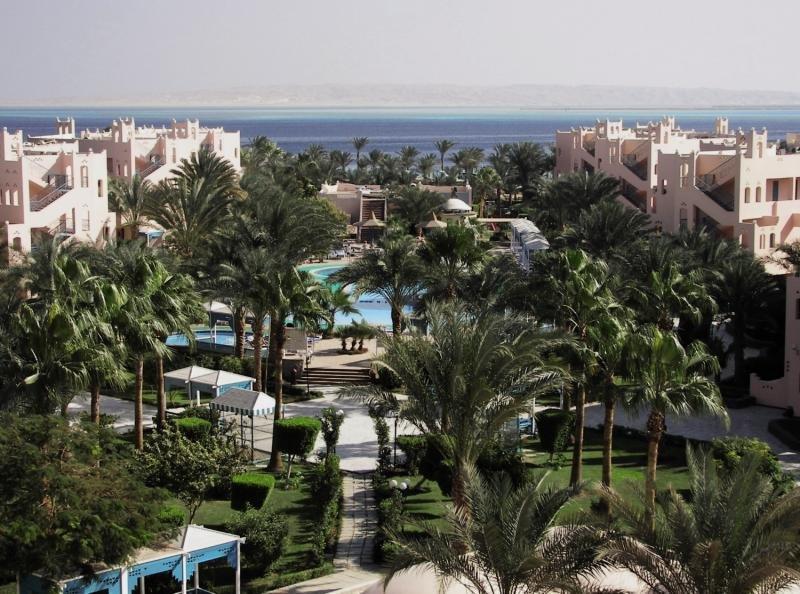 Le Pacha Resort Garten