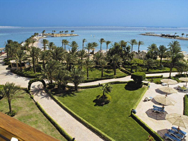Continental Hotel Hurghada Garten
