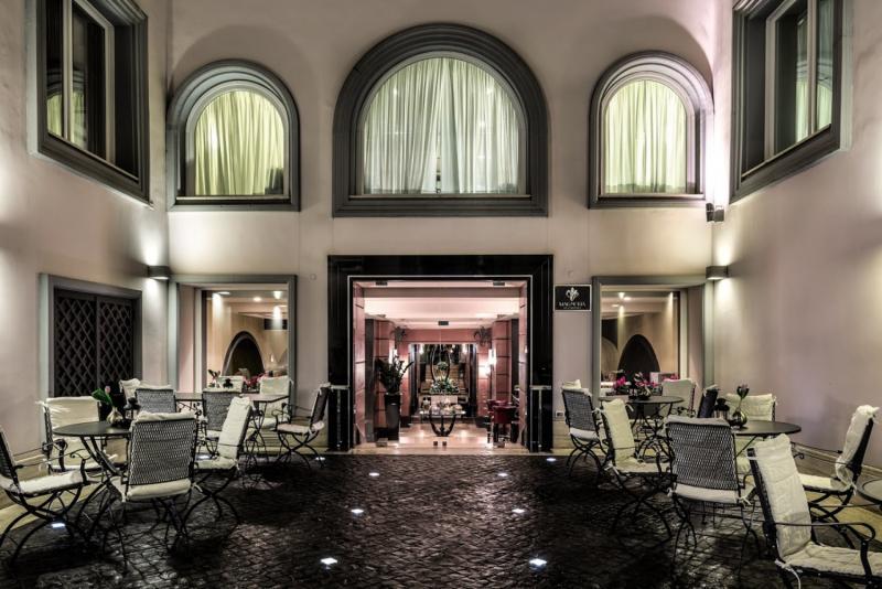 Grand Hotel Via Veneto Terrasse