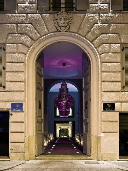 Grand Hotel Via Veneto Außenaufnahme