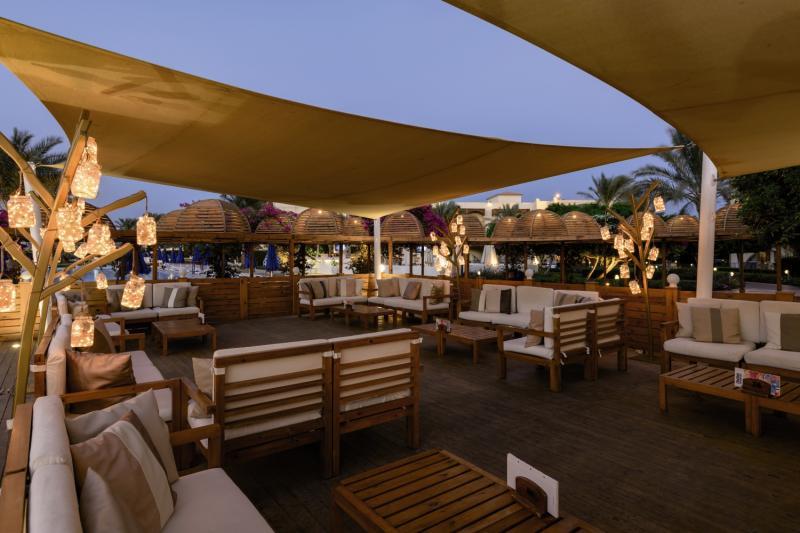 Desert Rose Resort Terrasse
