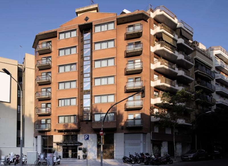 Catalonia Sagrada Familia Außenaufnahme